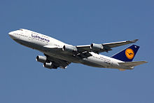 Boeing 747-400 der Lufthansa