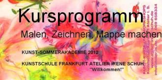 Kunst-Sommer-Akademie-Frankfurt 2012