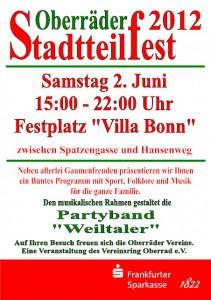 Stadttelfest 2012