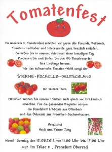 Flyer Tomatenfest